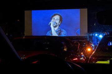 Yasemin Wüstenhagen Max Giesinger spielt Autokino-Konzert in Karlsruhe
