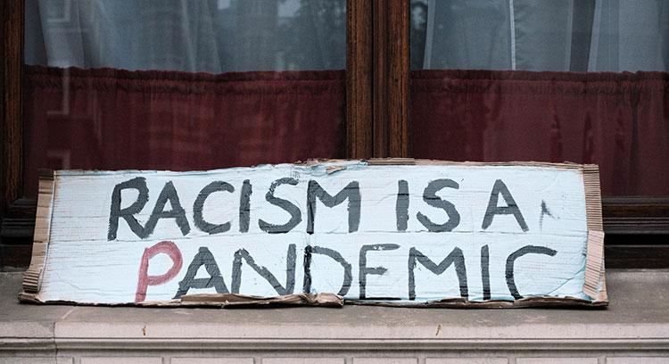 Rassismus ist überall Türkei Deutschland Pandemie