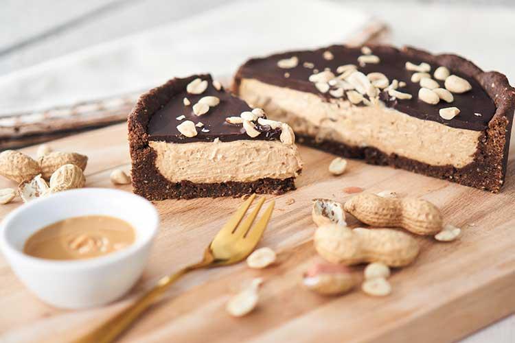 Das ist eine Erdnuss Fräulein Schulterfrei Yasemin Wüstenhagen Erdnuss Kuchen Käsekuchen