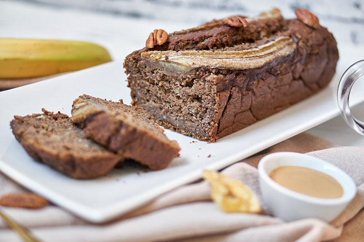 Banane trifft Pekannuss – Bananenbrot ohne zusätzliche Süße Foodblog Yasemin Wüstenhagen