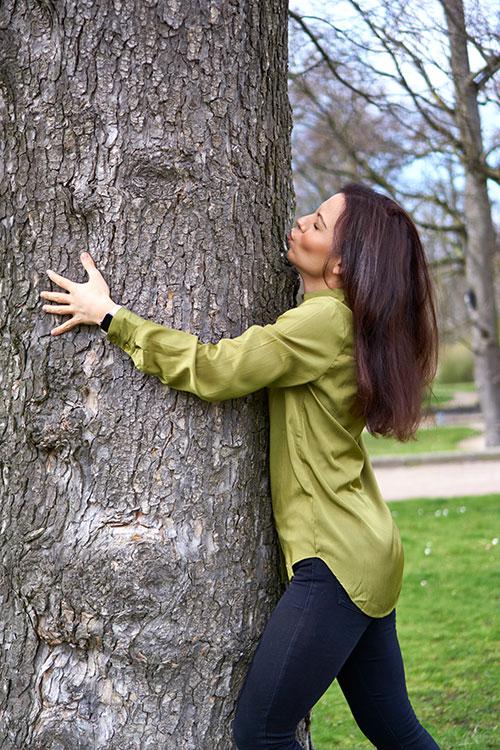 Wie Öko (b)isst du? Yasemin Wüstenhagen Baum Umarmung