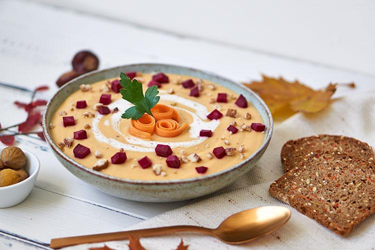 Vegane Maronensuppe – super cremig und einfach in der Zubereitung! Yasemin Wüstenhagen Rezept