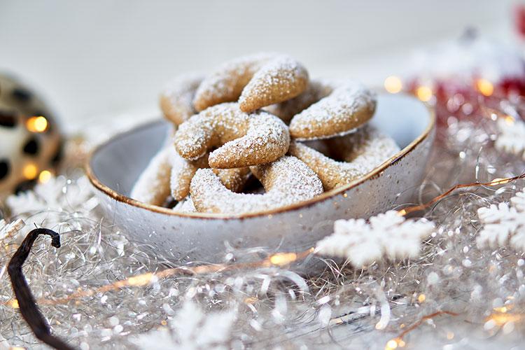 Vegane Vanillekipferl – ohne Zucker und Gluten Yasemin Wüstenhagen