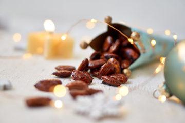 Gebrannte Mandeln mit Kokosblütenzucker und Dattelsüße ohne raffinierten Zucker Yasemin Wüstenhagen