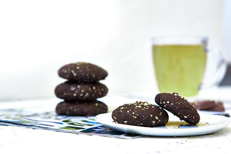 Vegane Hanf-Cookies ohne Zucker Yasemin Wüstenhagen Karantine