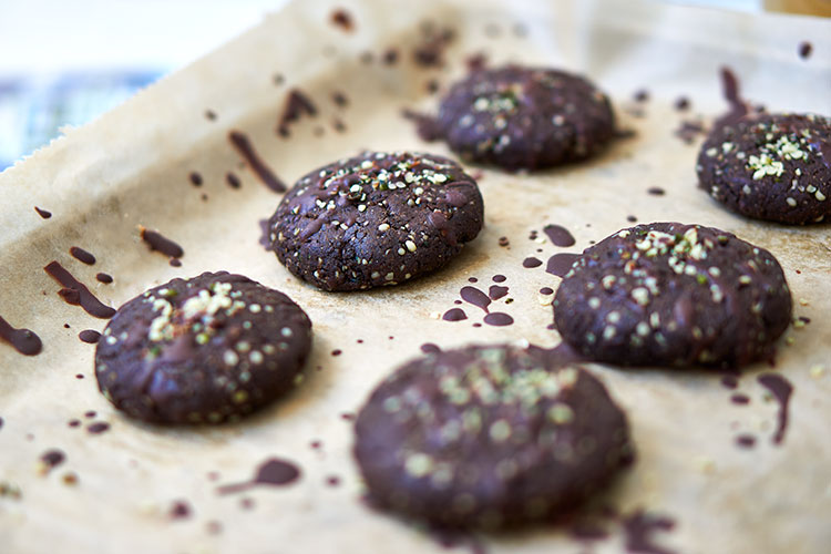 Vegane Hanf-Cookies ohne Zucker Yasemin Wüstenhagen