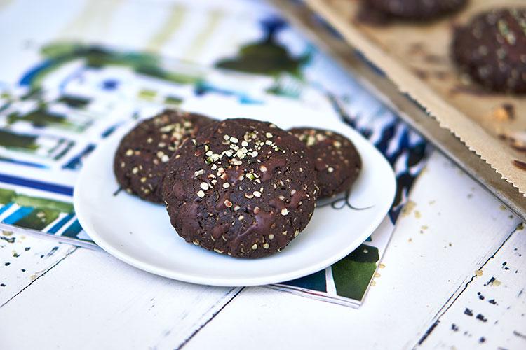 Vegane Hanf-Cookies ohne Zucker Yasemin Wüstenhagen Kekse