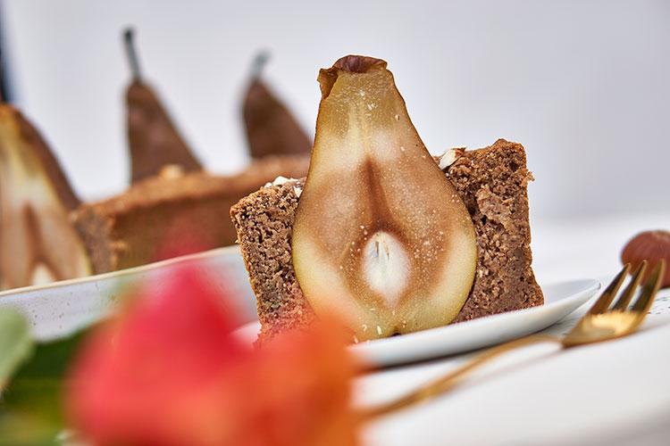 Veganer Birnenkuchen ohne Zucker und Gluten Yasemin Wüstenhagen