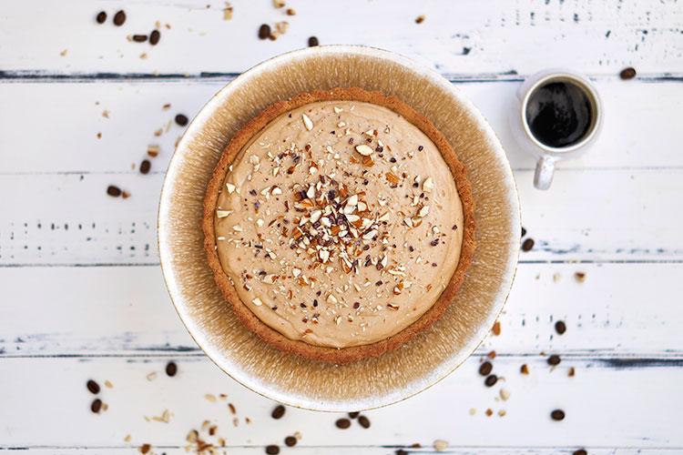 Vegane Tiramisu-Creme-Tarte ohne Zucker Yasemin Wüstenhagen