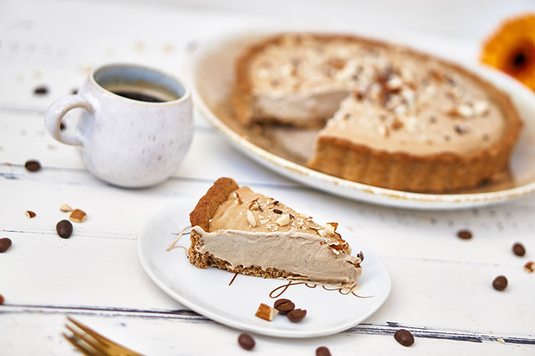 Vegane Tiramisu-Creme-Tarte ohne Zucker Yasemin Wüstenhagen Kaffee