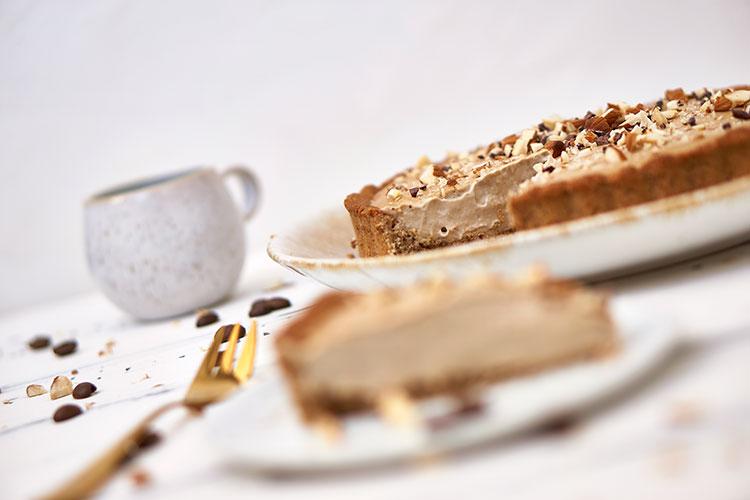 Vegane Tiramisu-Creme-Tarte ohne Zucker Yasemin Wüstenhagen glutenfrei