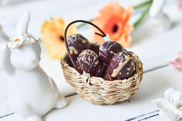Vegane Nougat-Eier ohne Zucker Yasemin Wüstenhagen
