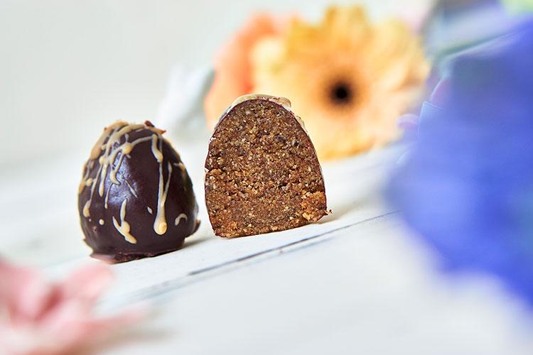 Schokolade Vegane Nougat-Eier ohne Zucker Yasemin Wüstenhagen