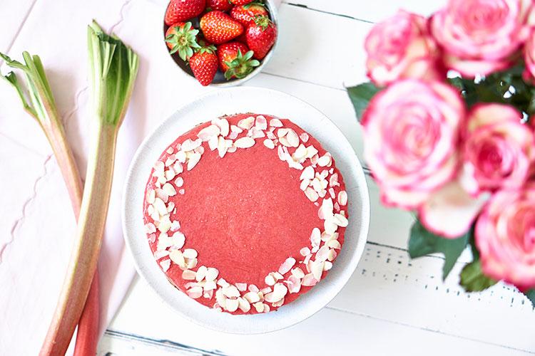 Vegane Fruchtgelée-Tarte ohne Gelatine Yasemin Wüstenhagen Erdbeere
