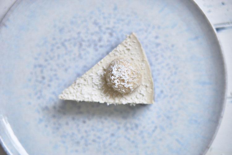 Roh-vegane Rafaello-Torte Yasemin Wüstenhagen lecker