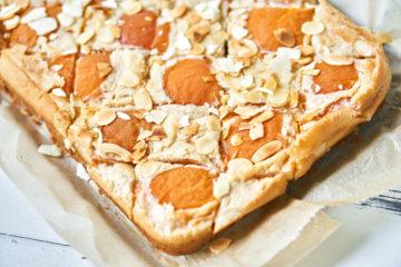 Veganer Käsekuchen mit Aprikosen Yasemin Wüstenhagen Sojafrei