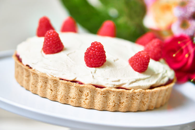 Vegane Himbeer-Mascarpone-Torte Yasemin Wüstenhagen Geburtstag