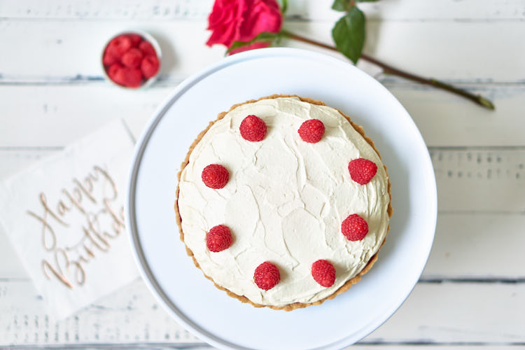Vegane Himbeer-Mascarpone-Torte Yasemin Wüstenhagen glutenfrei