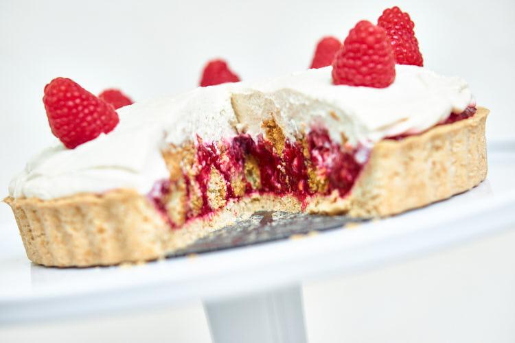 Vegane Himbeer-Mascarpone-Torte Yasemin Wüstenhagen festlich
