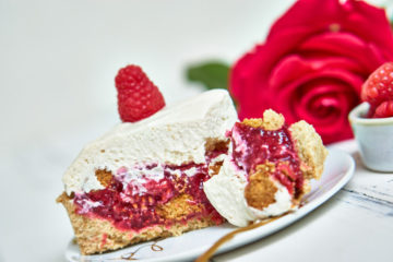 Vegane Himbeer-Mascarpone-Torte Yasemin Wüstenhagen