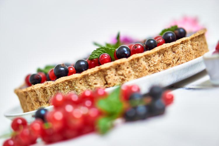 Vegane Johannisbeer-Tarte ohne Gelatine Yasemin Wüstenhagen Fruchtaufstrich
