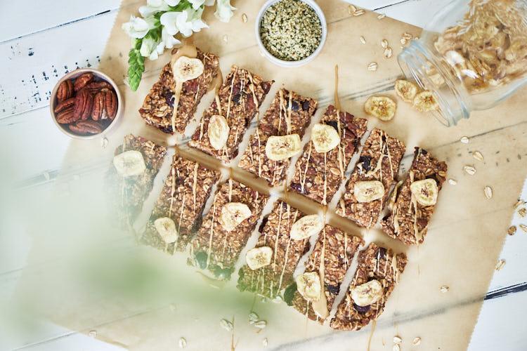 Vegane Bananenflapjacks ohne Zucker Yasemin Wüstenhagen lecker